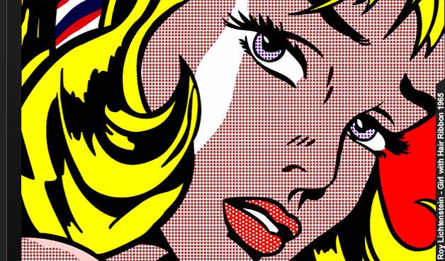 Roy Lichtenstein-blonde