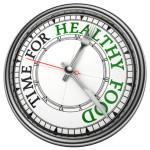 tempo per cibo sano
