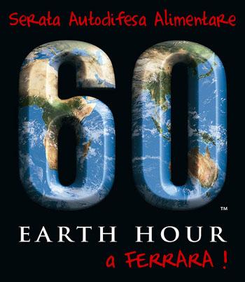 Earth Hour 2010 a Ferrara