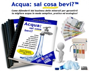 Ebook Dossier sull'ACQUA: la verità su rubinetto, minerali, depuratori...