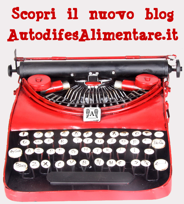 Corso di Nutrizione Autodifesa Alimentare - macchina da scrivere
