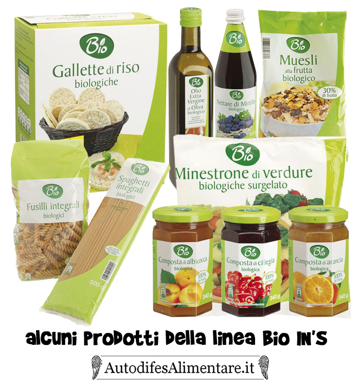linea biologica discount IN'S segnalato da Autodifesalimentare.it
