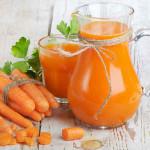 Corso di nutrizione: il succo di carote