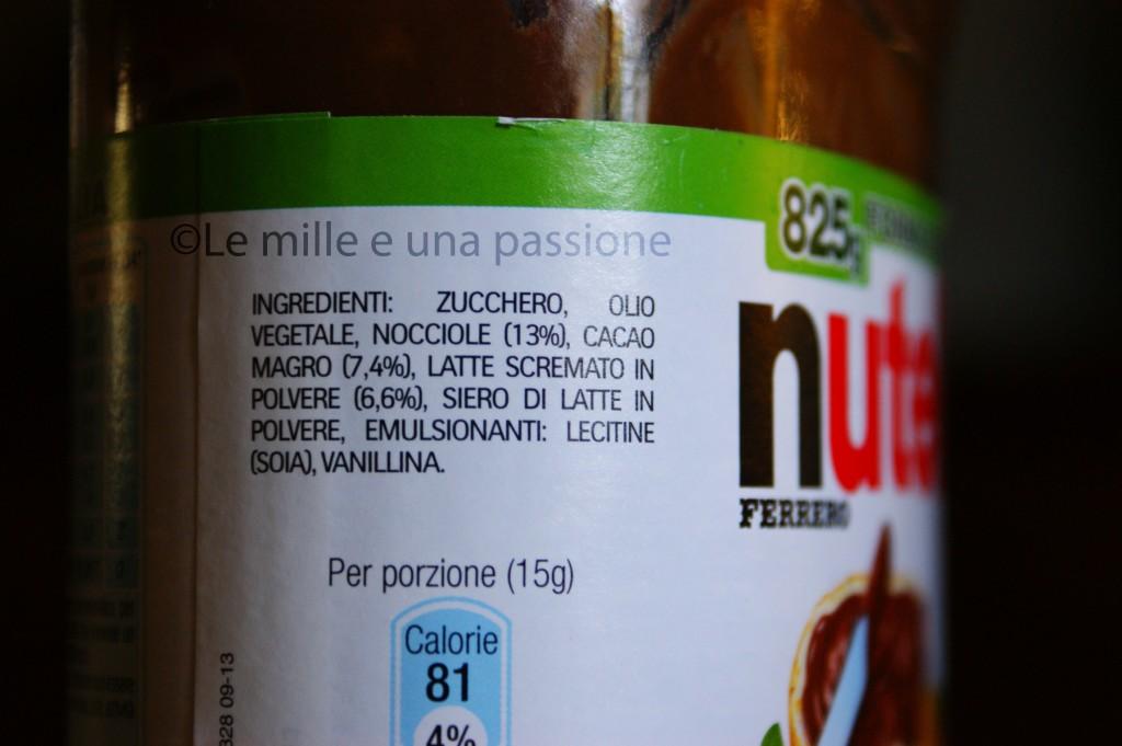 etichetta vecchia nutella
